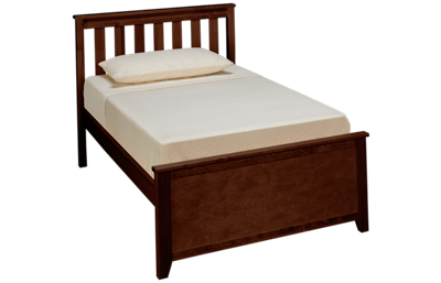 Maxwood Furniture Chester Twin Slat Bed