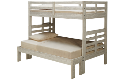 Innovations Nate Twin over Full Bunk Bed with Ladder