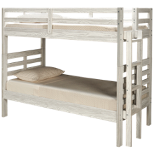 Flotation Innovations Nate Twin Over Twin Bunk Bed with Ladder