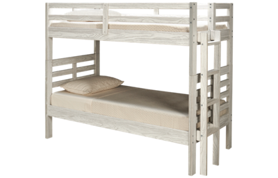 Innovations Nate Twin over Twin Bunk Bed with Ladder