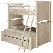 Legacy Classic Summerset Twin over Full Bunk Bed with Underbed Trundle