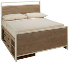 Universal #myRoom Full Panel Storage Bed