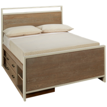 Universal #myRoom Full Panel Storage Bed
