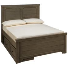 Legacy Classic Farm House Full Mansion Bed with Underbed Storage
