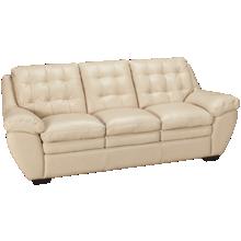 Futura Acacai Taupe Leather Sofa