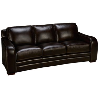 Futura-Derrick-Futura Derrick Leather Sofa - Jordan\'s Furniture
