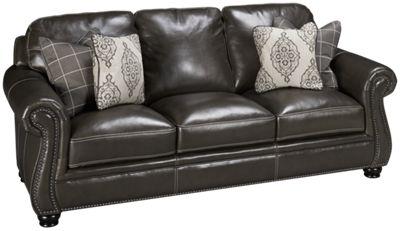 Simon Li Charleston Simon Li Charleston Leather Sofa   Jordanu0027s Furniture