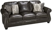 Simon Li Charleston Leather Sofa