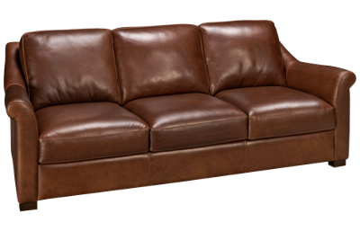 Soft Line Everest Leather Sofa