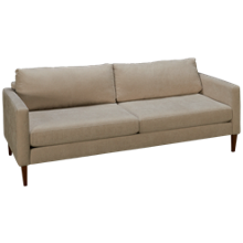 American Leather Petite Track Sofa