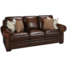 Simon Li Hillsboro Leather Sofa