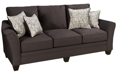 Peak Living Flannel Birch Sofa
