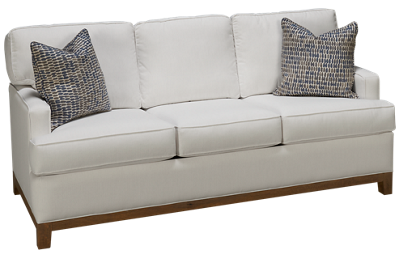 Capris You Design Wood Base Sofa