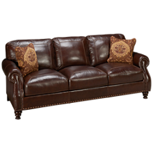 Simon Li Solena Leather Sofa
