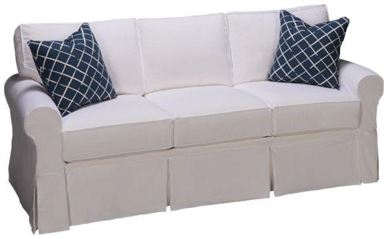 Four Seasons Alexandria Slipcover Sofa Jordan S Furniture