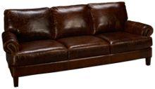 Soft Line Memphis Leather Sofa