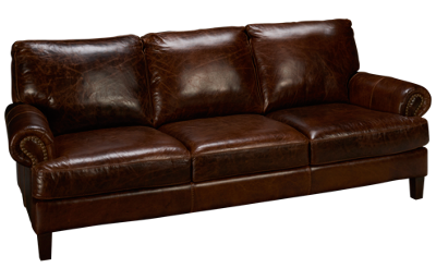 Soft Line Memphis Leather Sofa