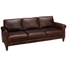 Soft Line Waco Leather Sofa