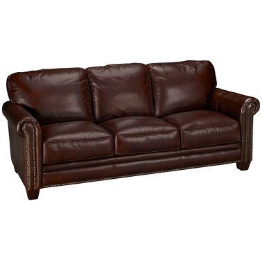 Futura Cordovan Leather Sofa