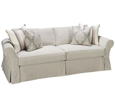 Four Seasons Alyssa Sofa With Slipcover Jordan S Furniture