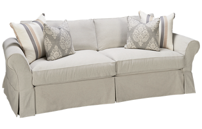 Four Seasons Alyssa Sofa with Slipcover