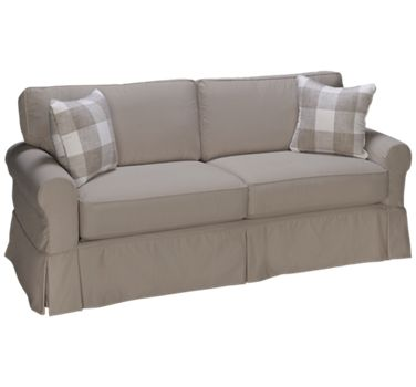 Four Seasons Alexandria Sofa With Slipcover Jordan S Furniture