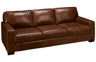 Soft Line Pista Leather Sofa