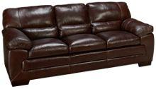 Simon Li Amarillo Leather Sofa