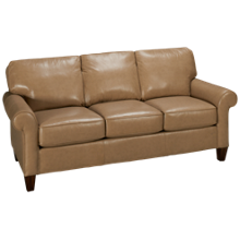 Flexsteel Westside Leather Sofa