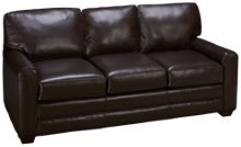 Klaussner Home Furnishings Selection Leather Sofa