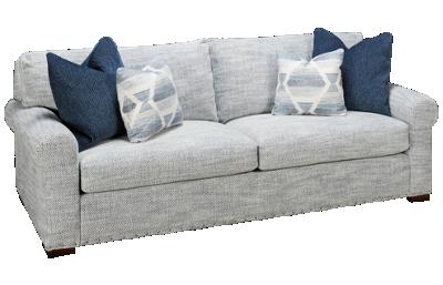 Kincaid Comfort Large 2 Over 2 Sofa with Nailhead