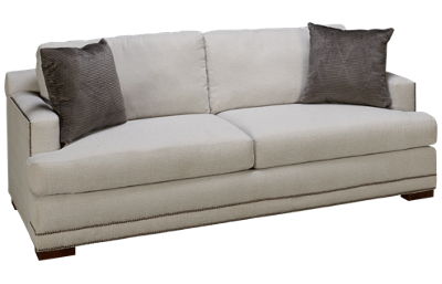 Klaussner Home Furnishings Laine Sofa with Nailhead