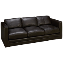 Soft Line Godiva Leather Sofa