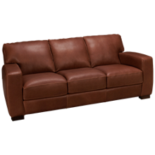 Soft Line Panama Leather Sofa