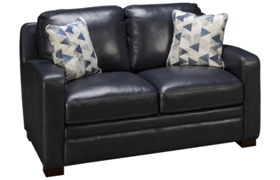 Simon Li El Paso Leather Loveseat