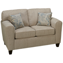 American Furniture Pewter Loveseat