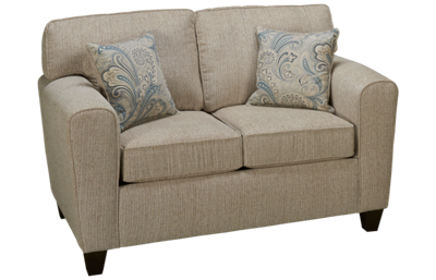 Peak Living Pewter Loveseat