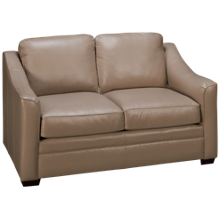 Craftmaster Coppola Leather Loveseat
