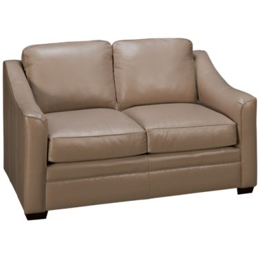 Tremendous Craftmaster Coppola Leather Loveseat Ncnpc Chair Design For Home Ncnpcorg