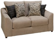 United Luxe Sable Loveseat