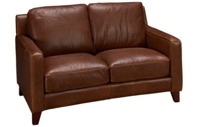 Futura Turner Leather Loveseat