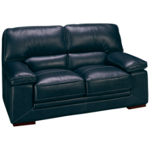 Futura Mansa Leather Loveseat