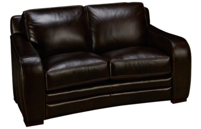 Futura Derrick Leather Loveseat