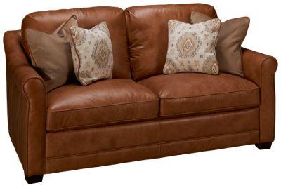 Unique Simon Li-Muttak-Simon Li Muttak Leather Loveseat - Jordan's Furniture HL64