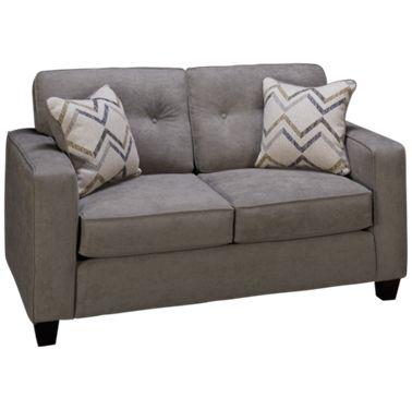 Enjoyable Fusion Furniture Vintage Loveseat Machost Co Dining Chair Design Ideas Machostcouk