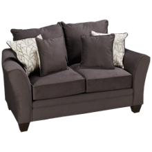 Peak Living Flannel Birch Loveseat