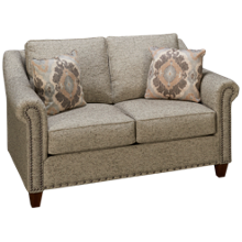 Klaussner Home Furnishings Langley Loveseat