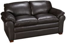 Futura Oslo Leather Loveseat