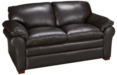 Futura Hogan Leather Loveseat