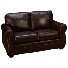 Palliser Borrego Leather Loveseat